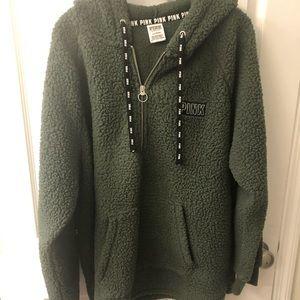 PINK by Victoria Secret Sherpa hoodie
